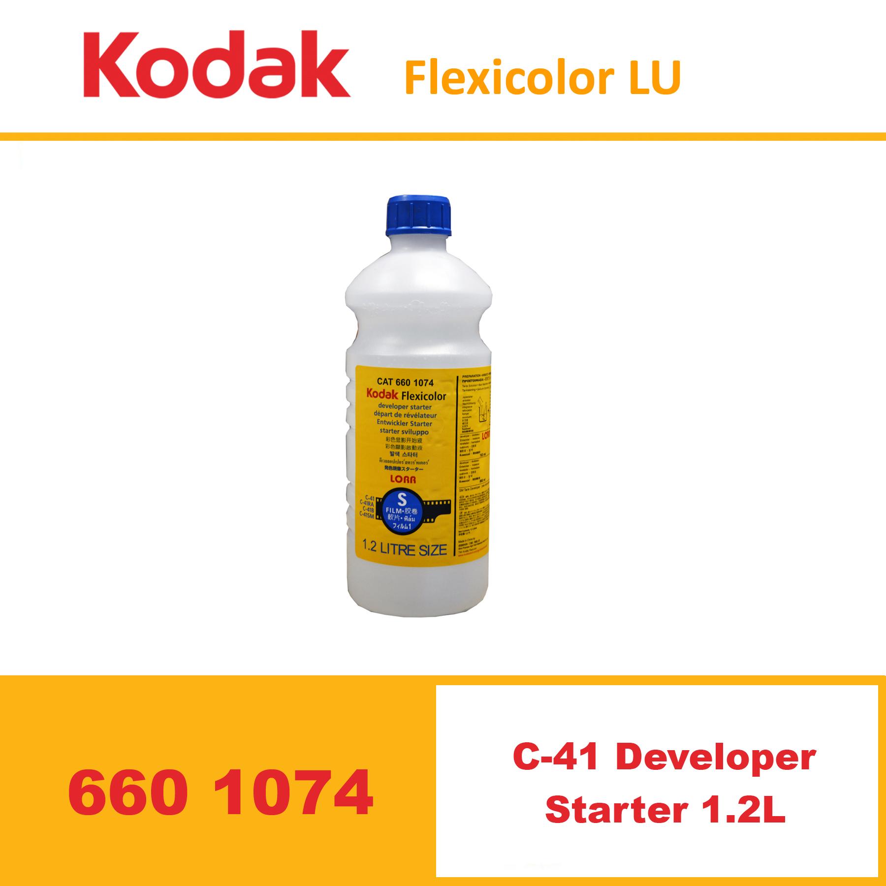 Kodak Flexicolor C41 Developer Starter 1.2L