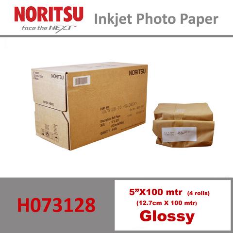 Noritsu 5'' Glossy ( 12.7 cm x 100 mtr )