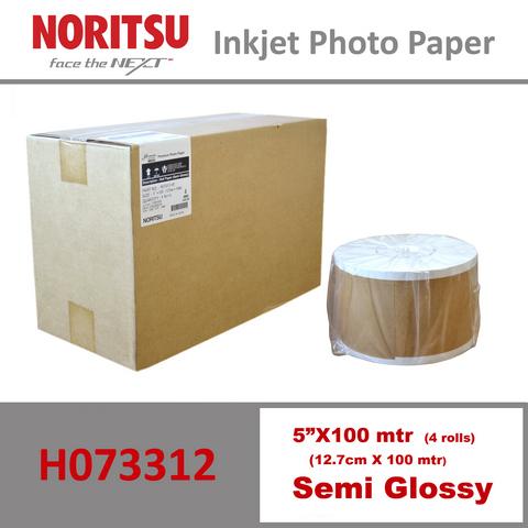 Noritsu 5'' Semi Glossy ( 12.7 cm x 100 mtr )
