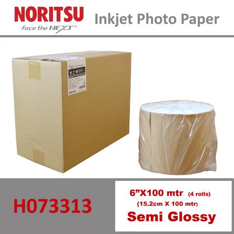 Noritsu 6'' Semi Glossy ( 15.2 cm x 100 mtr )