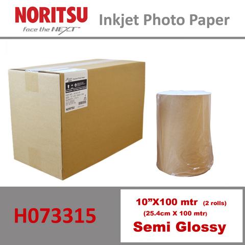 Noritsu 10'' Semi Glossy ( 25.4 cm x 100 mtr )