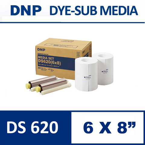 DS 620SD 6X8 inch Media Set from DNP