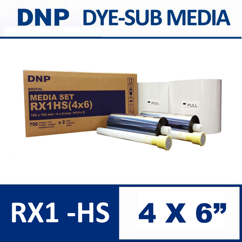 DS-RX1HS 4×6″ Media Set from DNP
