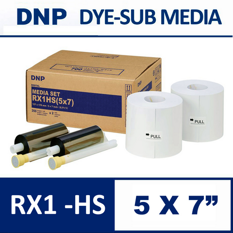 DS-RX1HS 5×7″ Media Set from DNP