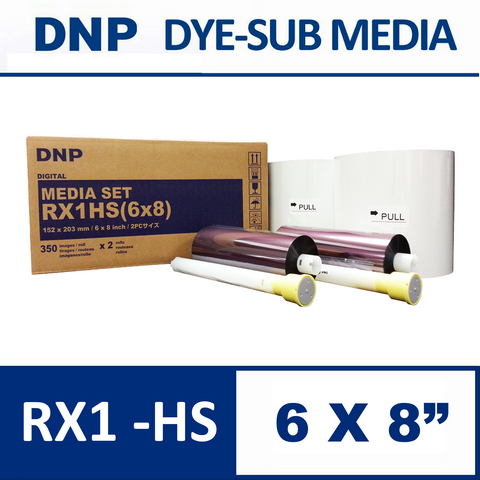 DS-RX1HS 6×8″ Media Set from DNP