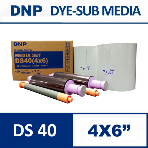 DS40™ 4×6 inch Media Set from DNP