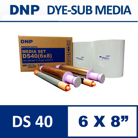 DS40™ 6X8inch Media Set from DNP