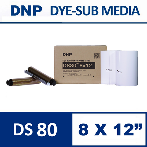 DS80™ 8X12inch Media Set from DNP