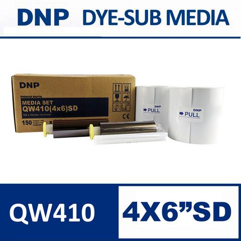 QW410™ 4×6 inch Premium Digital Media Set from DNP