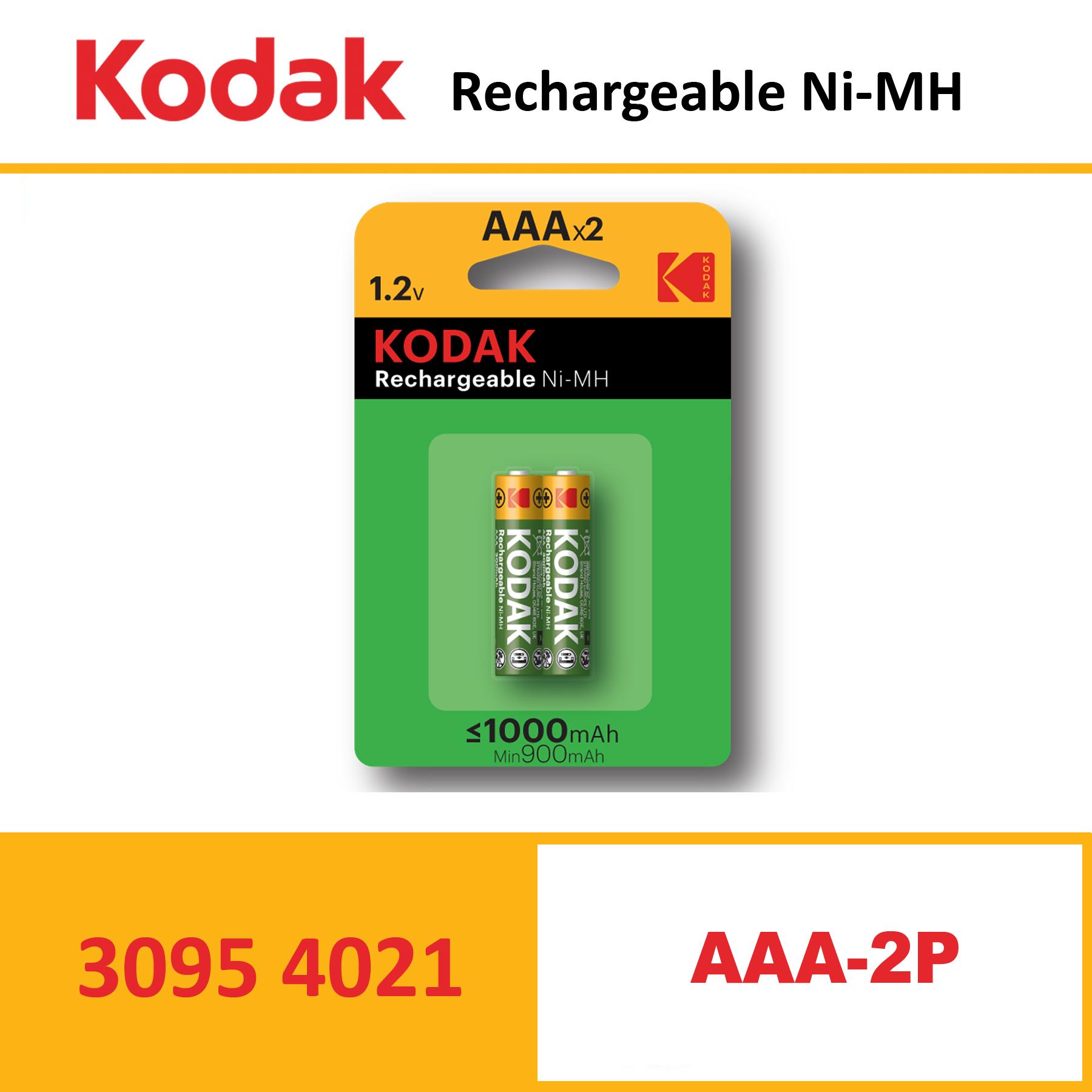 KODAK KAAAHR Rechargeable NiMH AAA-2