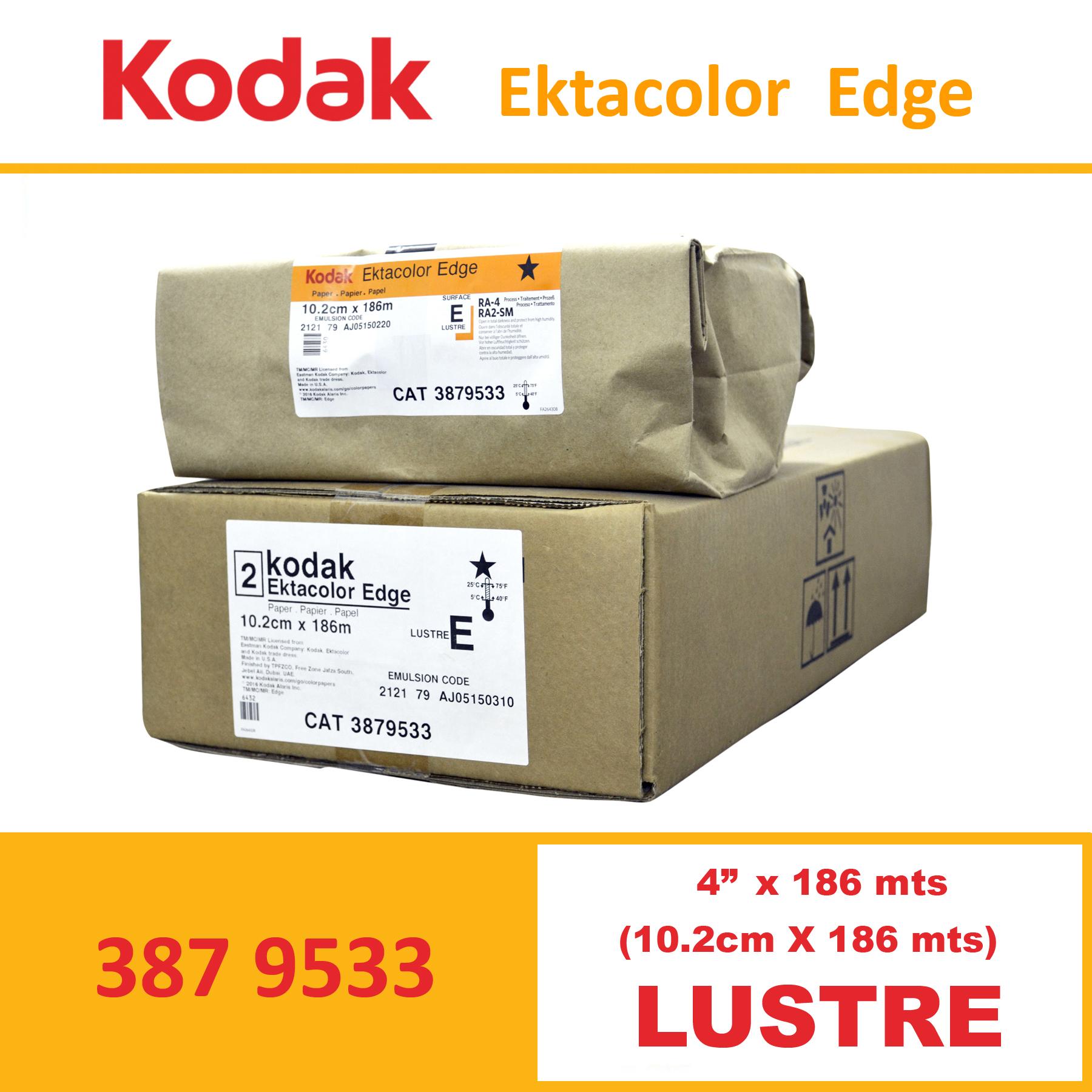 "Kodak 4"" Ekta Color Edge Paper Luster"