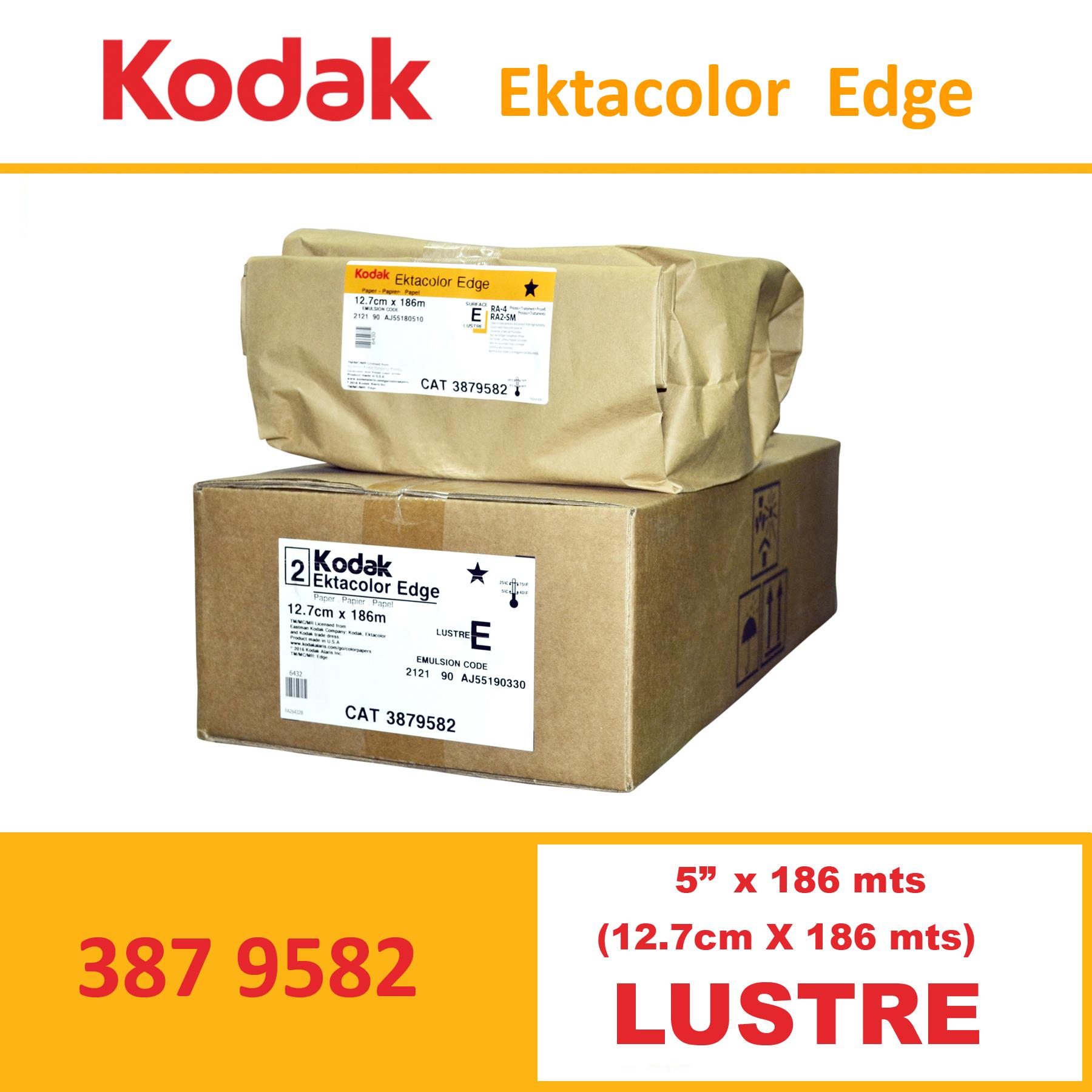 """Kodak 5"""" Ekta Color Edge Paper Lustre"""