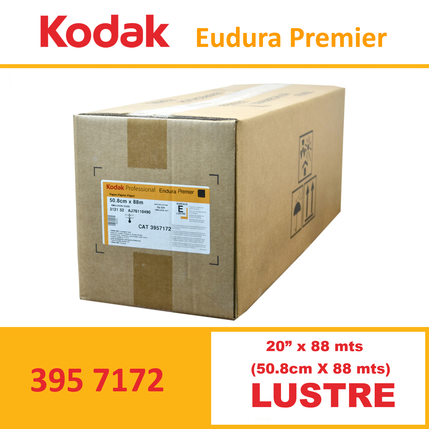 "Kodak 20"" Endura Professional Premier Lustre"