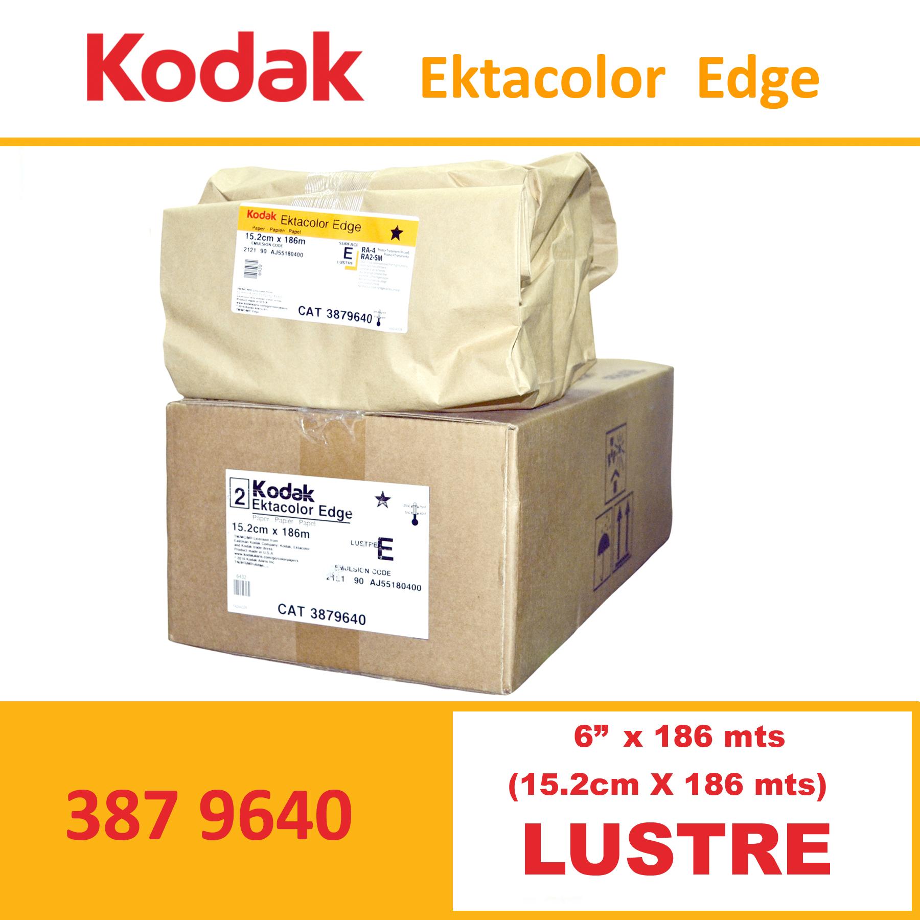 """Kodak 6"""" Ekta Color Edge Paper Lustre"""