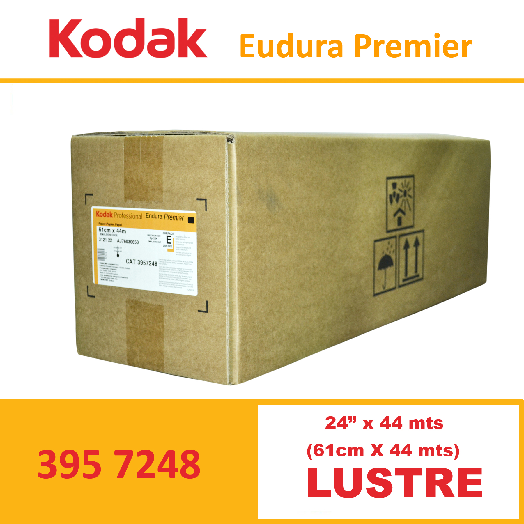 "Kodak 24"" Endura Professional Premier Lustre"