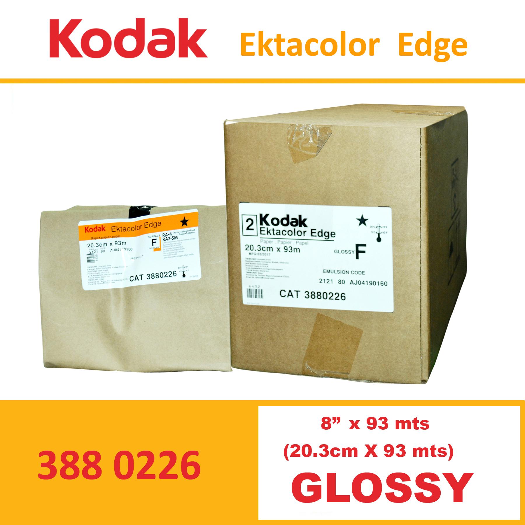 """Kodak 8"""" Ekta Color Edge Paper Lustre"""