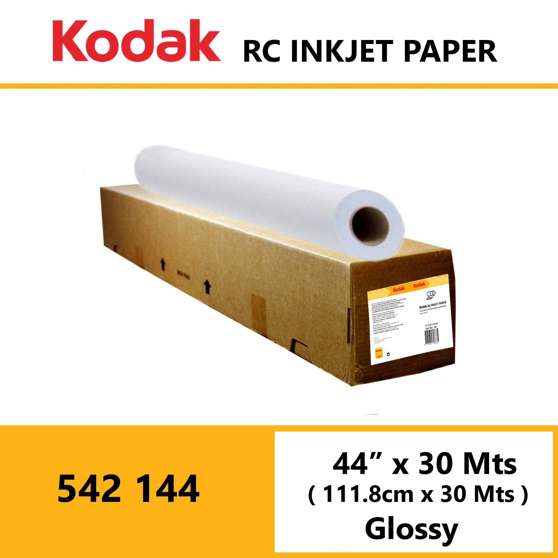 "Kodak Inkjet RC Paper 44"" x 30 Mtrs Glossy"