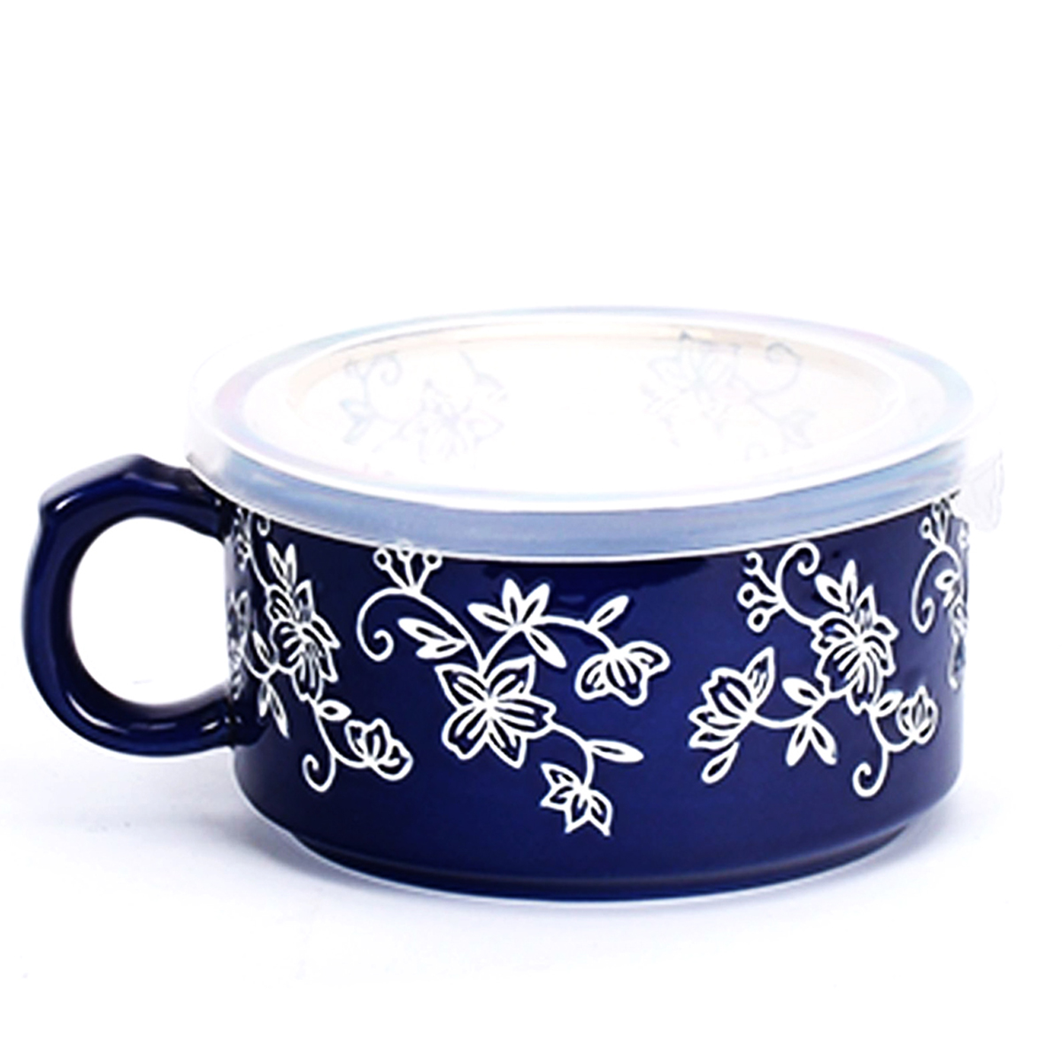 temp-tations® Floral Lace Meal Mug with Gift Box – Blue