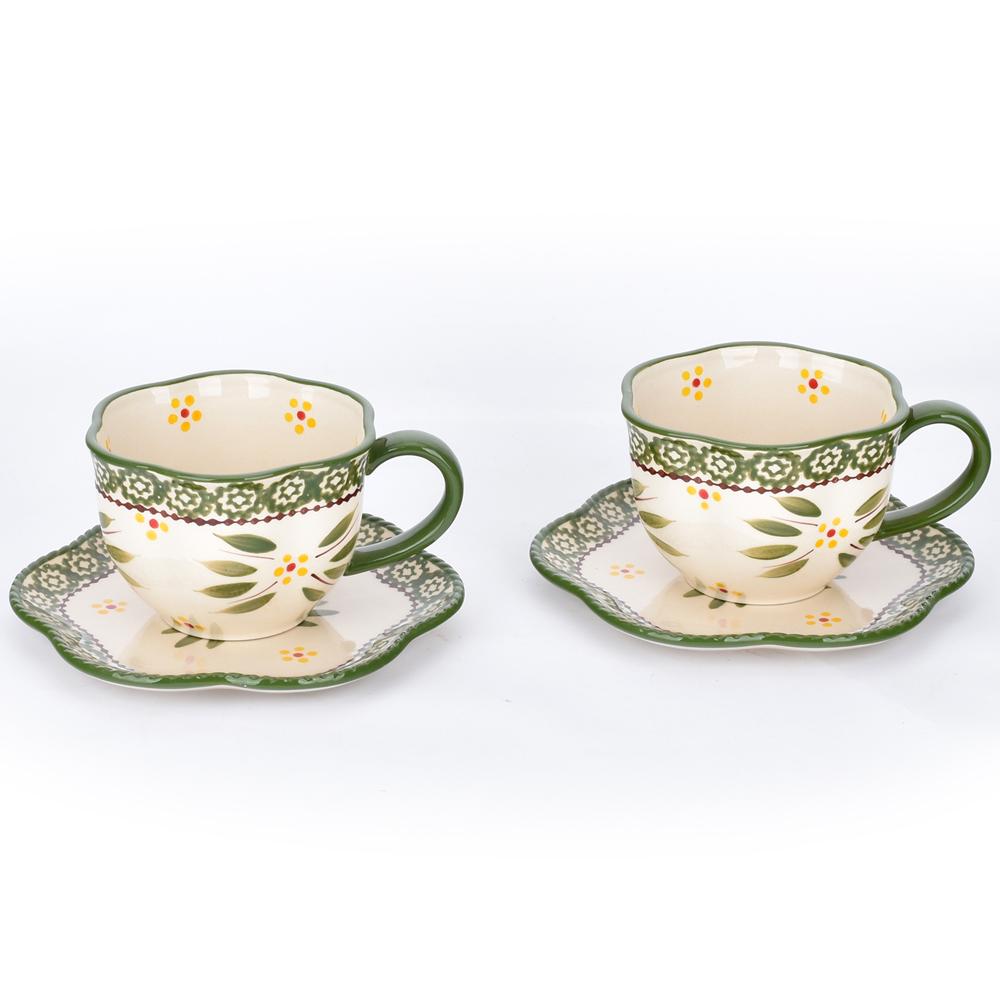 temp-tations® Old World Tea Set of 2 – Green