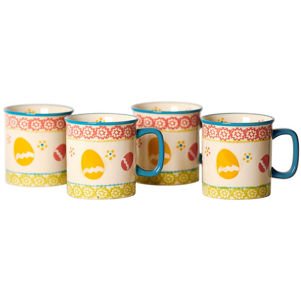 temp-tations® Old World Mug Set of 4 – Egg Hunt