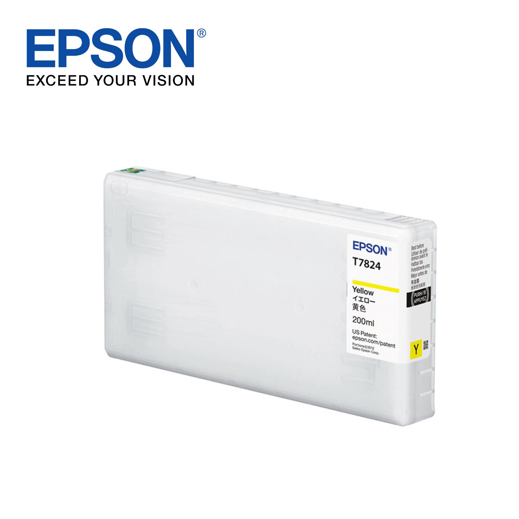 Epson Ink Cartridge for Surelab SL-D700 Photo Printer – Yellow