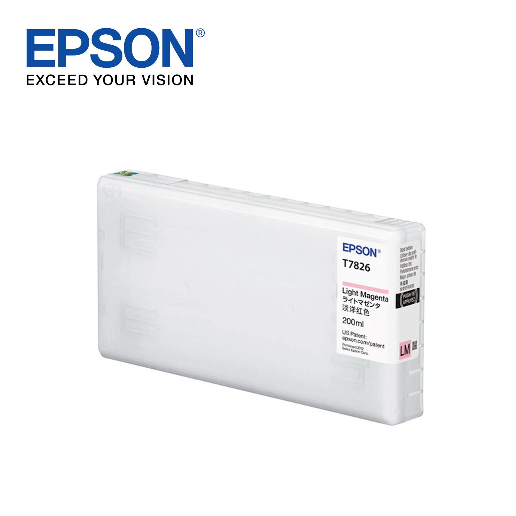 Epson Ink Cartridge for Surelab SL-D700 Photo Printer – Light Magenta