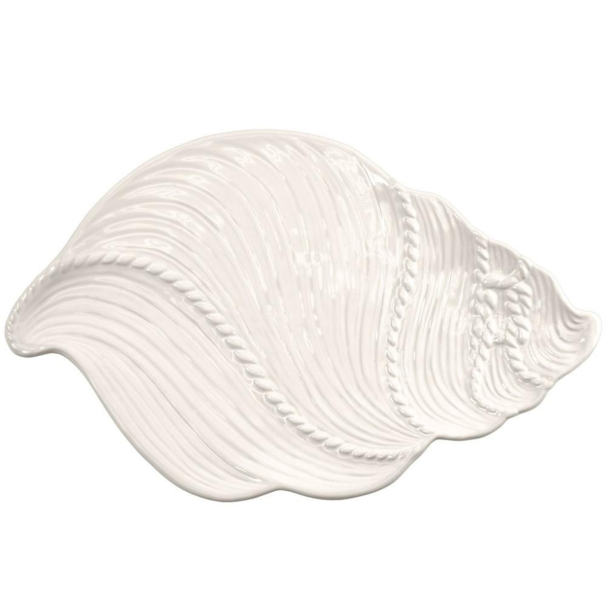 temp-tations® Knotical Platter 18 Inch – Classic White
