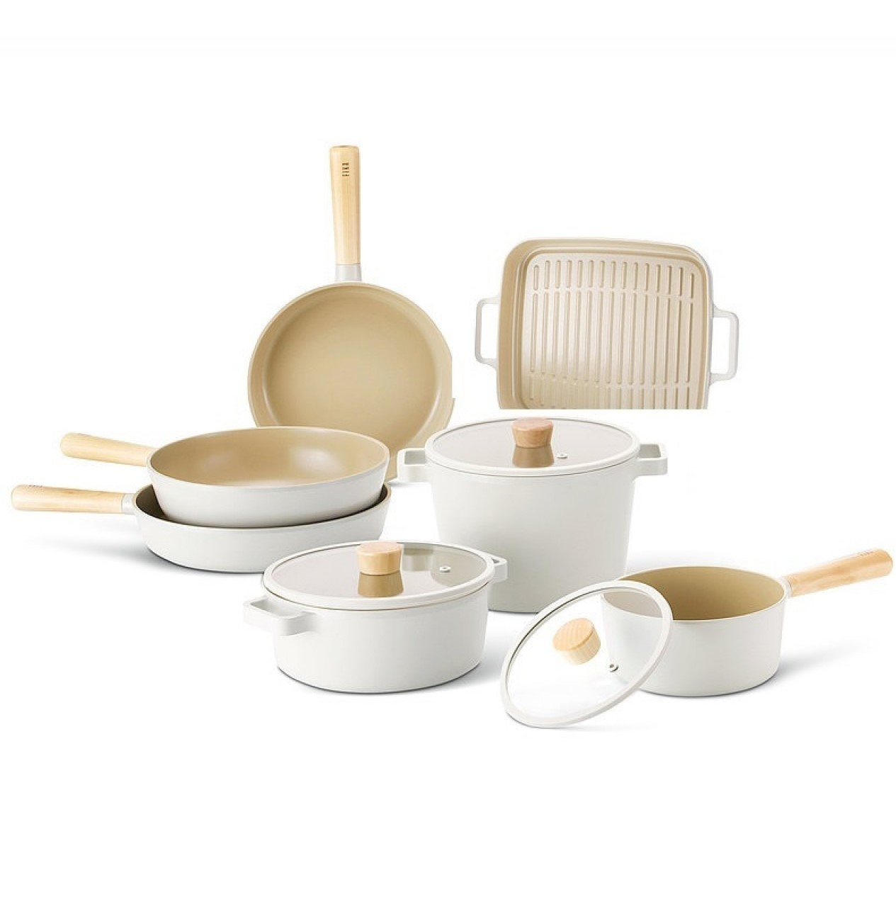 Neoflam Fika Induction Safe Cookware Set